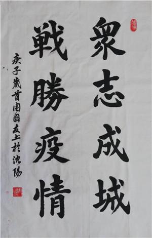 13镇坪书协周国友--众志成城、战胜疫情.jpg